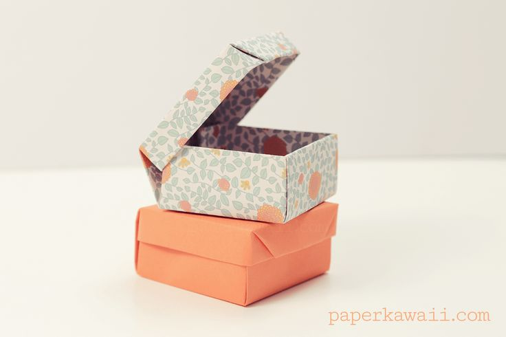 お洒落で便利と、SNSでも大人気!驚くほど便利な折り紙の箱の作り方・作り方をまとめて20選ご紹介します!…