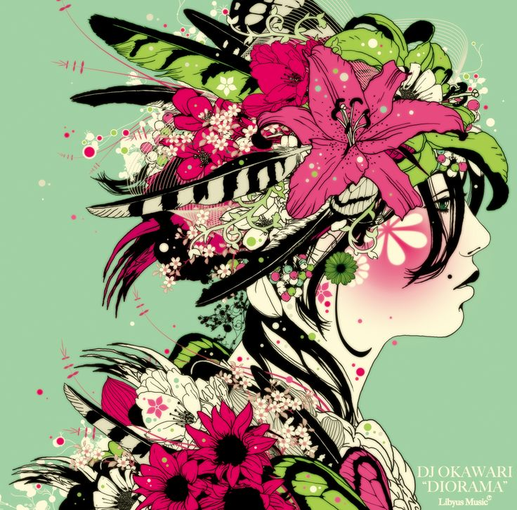 All cover art for Okawari's albums are done by Marumiyan.