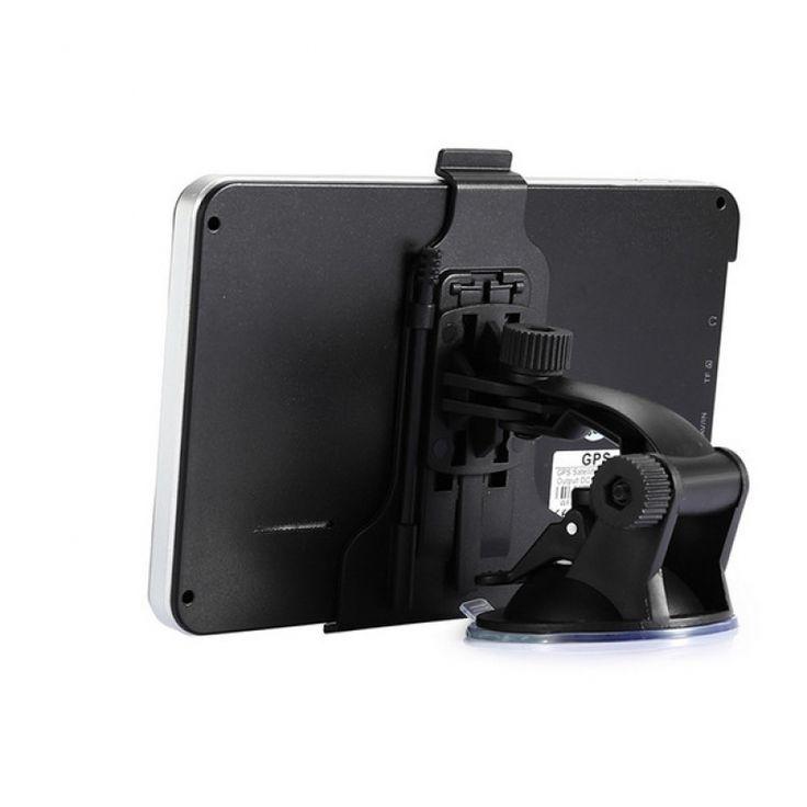704 Win CE 6.0 7 inch Car GPS Navigation Navigator AV North America Map Black