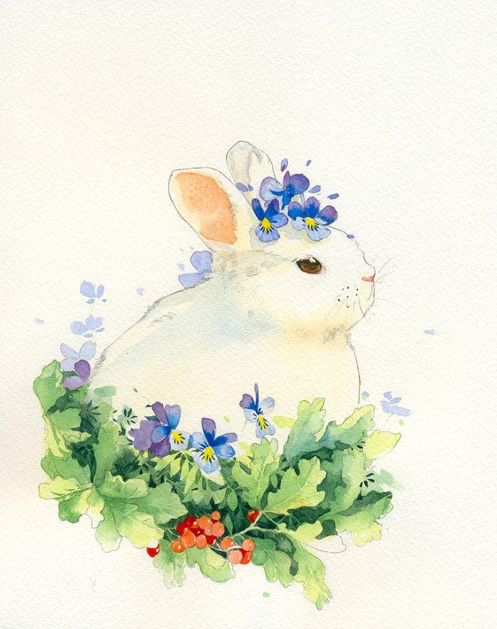Рисунки для акварельных открыток