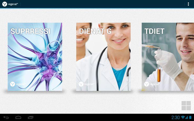 Catálogo para tablet creado para Vegenat S.A., empresa lídel en el secotr agroalimentario y la nutrición clínica. Kinética Mobile ha sido la encargada de migrar su formato papel a una aplicación para tablets, además de la creación de una aplicación Web para la gestión de los contenidos del mismo.