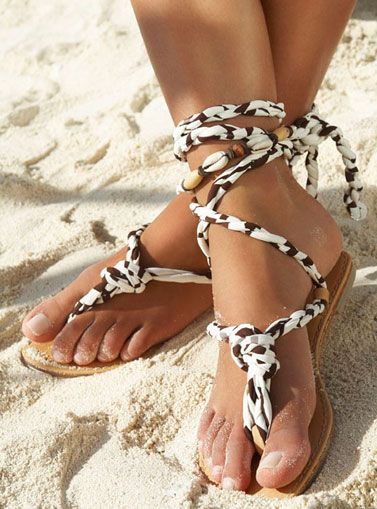 Snake Sandals by Ondademar Swimwear♥✤ | Keep the Glamour | BeStayBeautiful