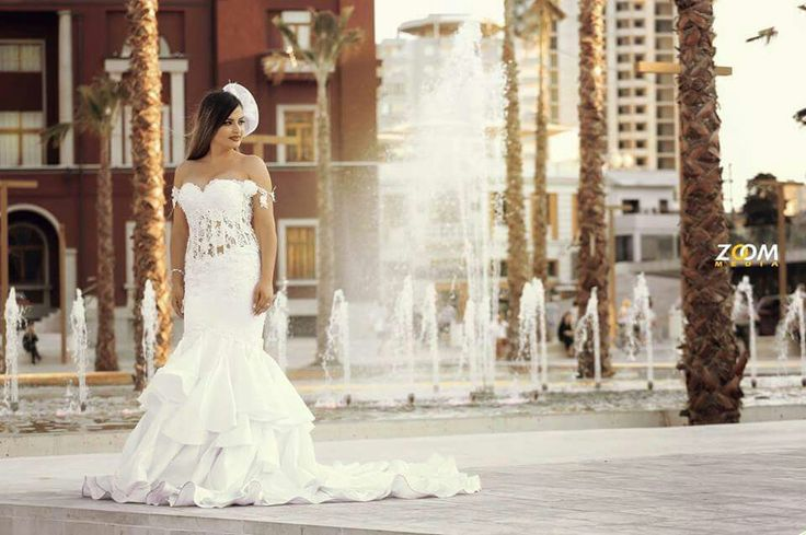 Gorgeous bride... perfect view