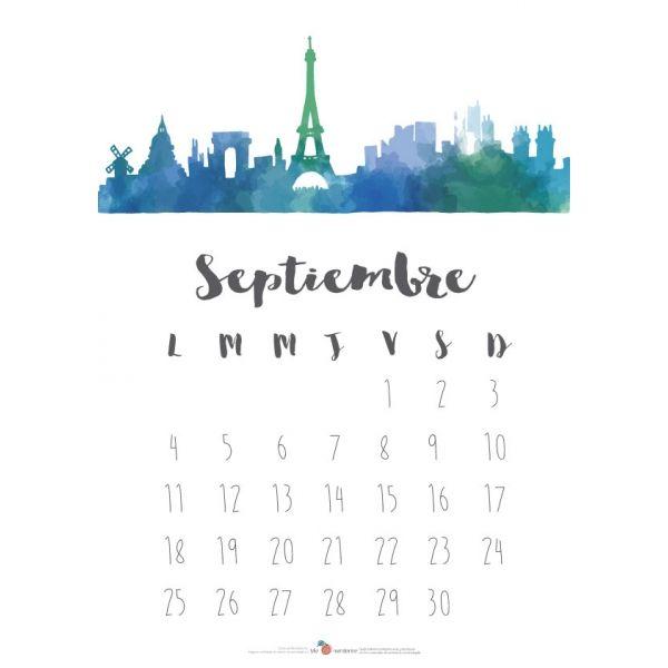 NUEVO DISEÑO Descargable calendario 2017