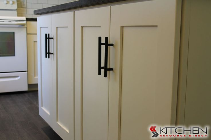 This kitchen resource direct customer installed simple for White kitchen cabinets black hardware