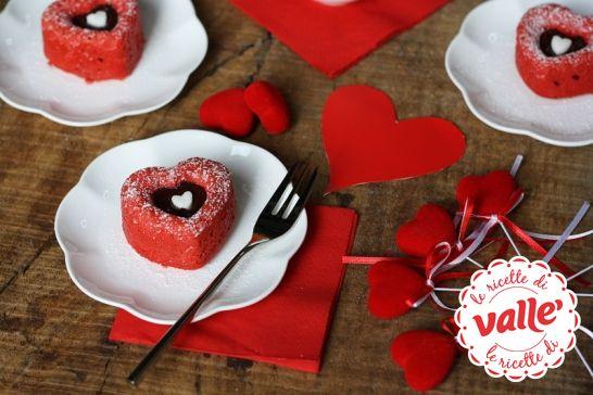 Cuori Red Velvet per San Valentino #sanvalentino #cuori #amore #love