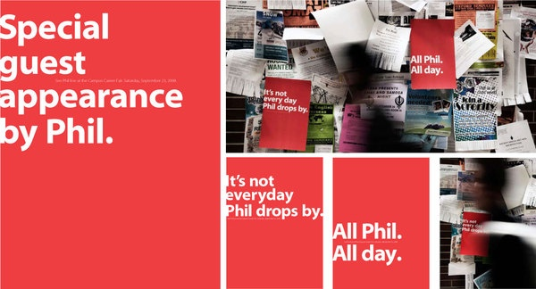 Conoco Phillips recruitment campaign: Work With Phil by Micheal McKay, via Behance