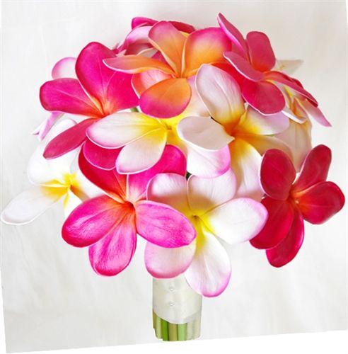 RTG Natural Touch Plumerias Mix Bouquet