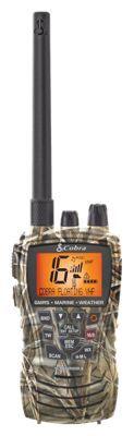 Cobra HH450 Camo Handheld VHF/GMRS Floating Radio - Realtree MAX-4