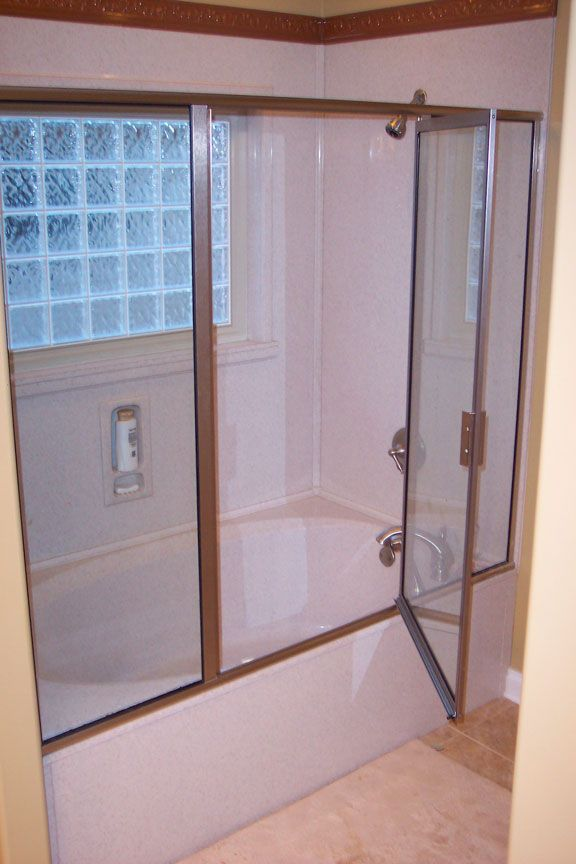 bathtub shower new polystone tub shower combo