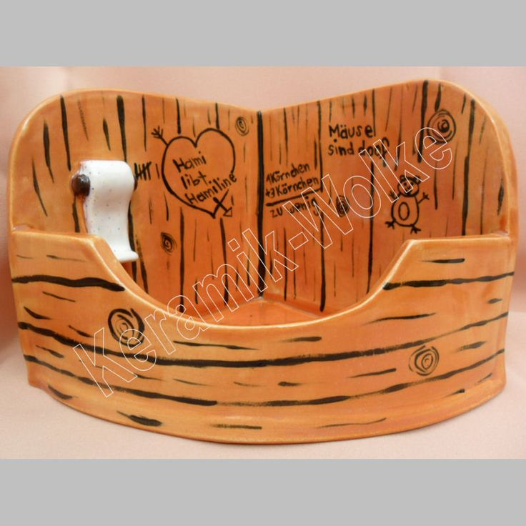 Hamster Sandbad / Ecktoilette :)