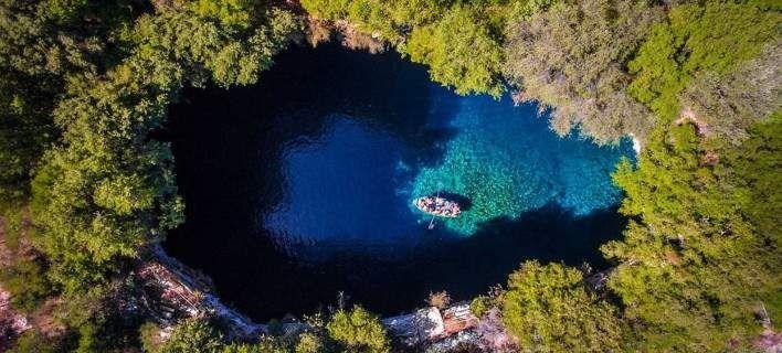 Τσιτέικο: Μια φωτογραφία drone από την Ελλάδα στις καλύτερες...