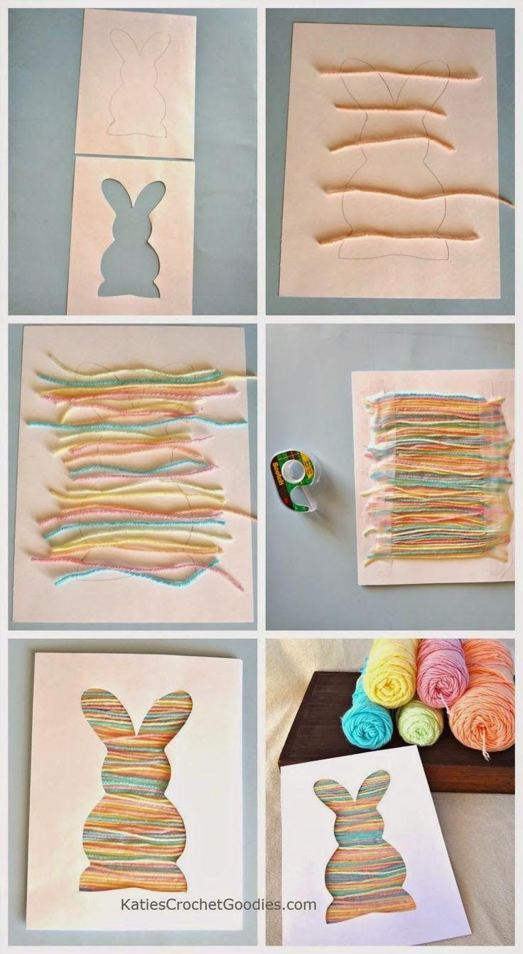Okulöncesi Sanat ve Fen Etkinlikleri: Okulöncesi İplerle Tavşan Etkinliği