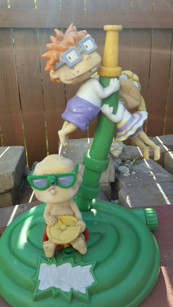 vintage rugrats water sprinkler toy nickelodeon 90's chuckie tommy angelica from $4.99