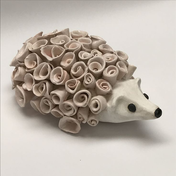 """Rosie"" the ceramic Hedgehog by Kate Madrigal"