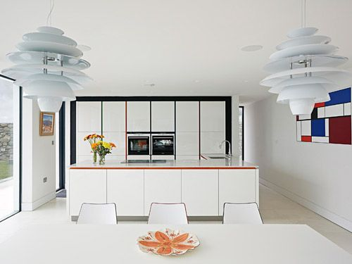 Inside Rob and Kay's home. Featured on Grand Designs