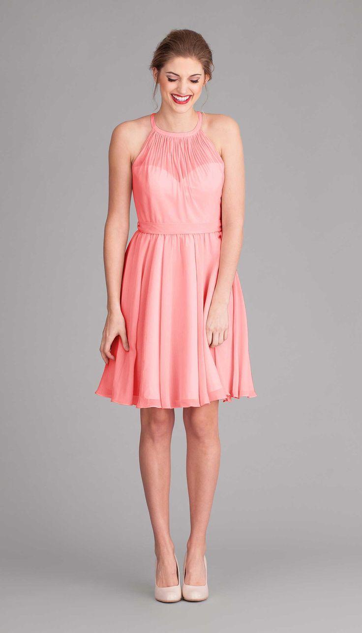 244 best bridesmaids dresses that dont suck images on pinterest coral chiffon bridesmaid dress sienna ombrellifo Images