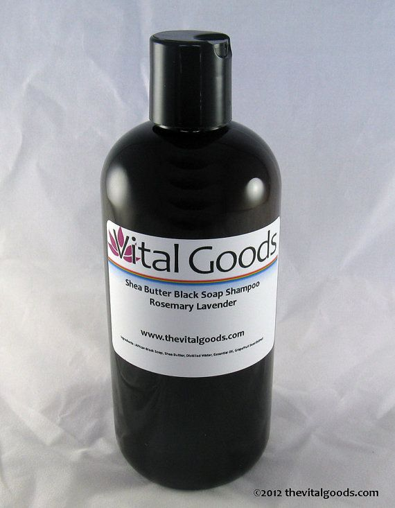 Dreadlock shampoo rosemary & lavender Shea Butter by vitalgoods, $16.75