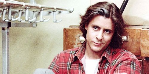 I mean, HAVE YOU SEEN THAT SMIRK? | 18 Reasons You Had A Crush On John Bender From The Breakfast Club