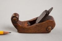 Need a collection of beautiful vintage and antique tools on display! (Dutch wood plane, inscribed 1724)
