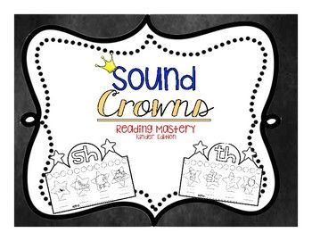 This printable includes a crown for each sound in the Reading Mastery Program. You can print the crowns on white or colored paper. Students love wearing their hats while firming up on sound recognition. These are great for Fun Friday activities or during Center time.