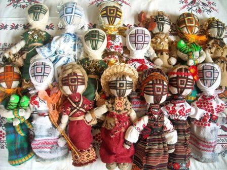 Tradycyjne lalki słowiańskie | NaLudowo.pl - Folklor, Etno Design, Kultura Ludowa