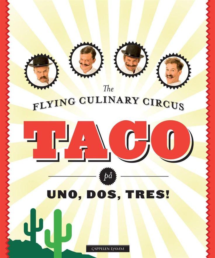 Om boka: En enkel kokebok for alle som elsker taco!  The Flying Culinary Circus har laget en enkel og morsom bok om taco. Her får du oppskrifter på tortillas, taco-krydder og salsaer - og hele 48 oppskrifter på ulike taco-retter.