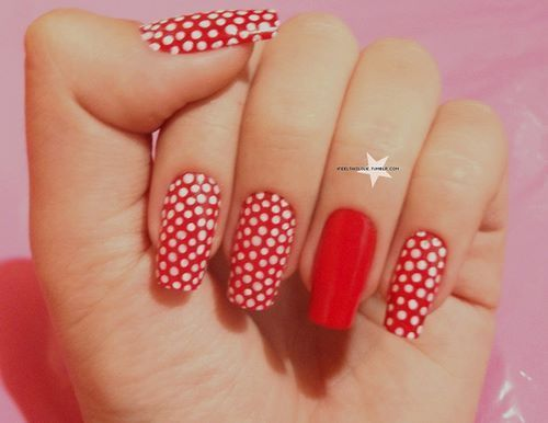 87 best 2015 nail designs images on pinterest make up nail art cool nail art tumblr cool nail designspolka dot sciox Image collections