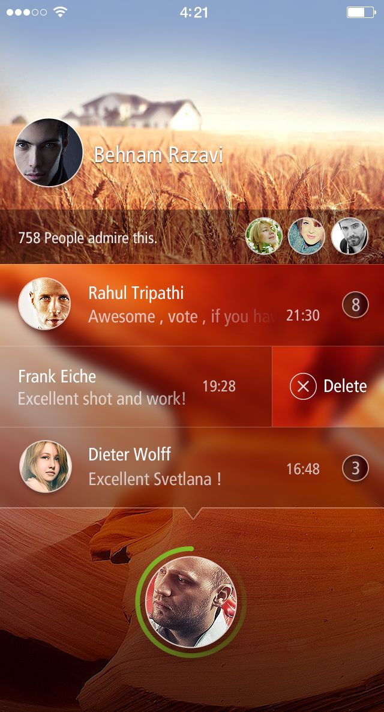 Lockscreen app by Sanadas young