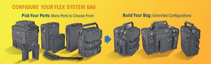 Pilot Flight Bags, Modular Utility Bags, Pick your parts - Build your bag - Brightline Bags