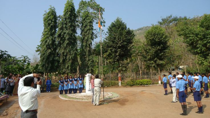 Republic Day, 2012 celebrations at one of our schools in Odisha