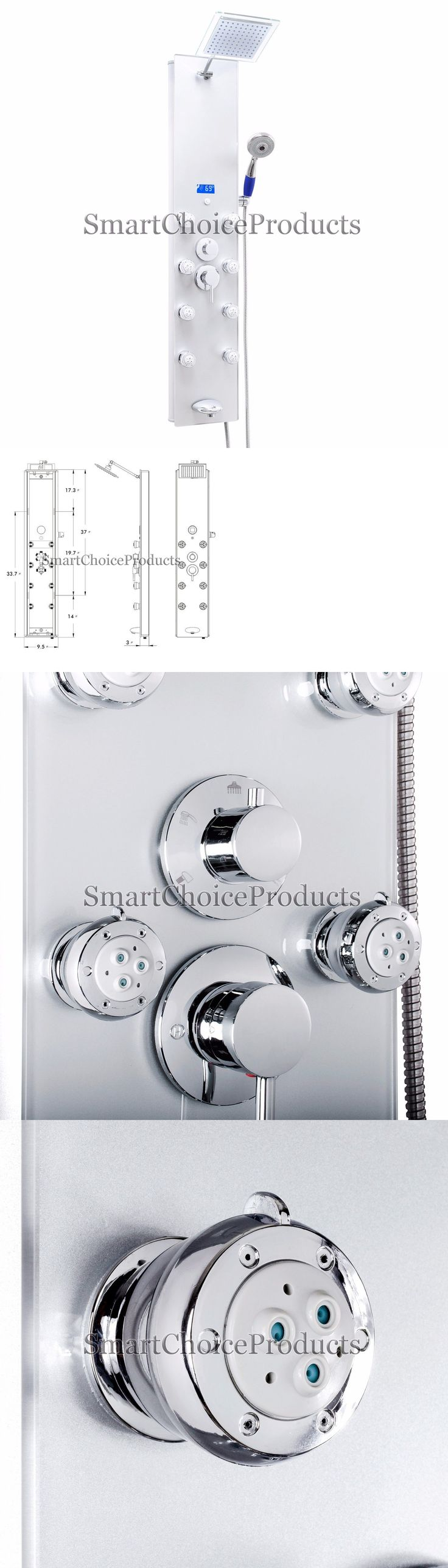 Shower Panels and Massagers 121849: 52 Modern Contemporary Shower Tower Panel System With Jet Spray In Space Silver -> BUY IT NOW ONLY: $199.99 on eBay!