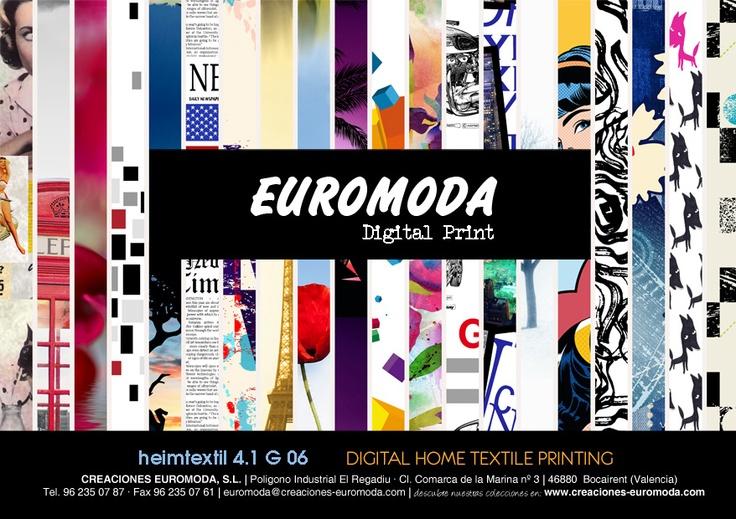 EUROMODA @ Heimtextil Messe Frankfurt, Hall 4.1 Stand G06
