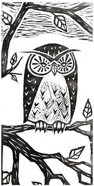 'Owl' by Vera Johansen