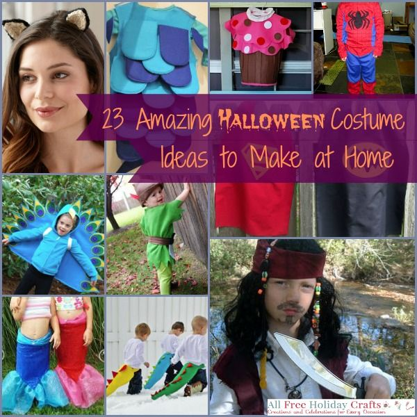 23 Amazing Halloween Costume Ideas to Make at Home