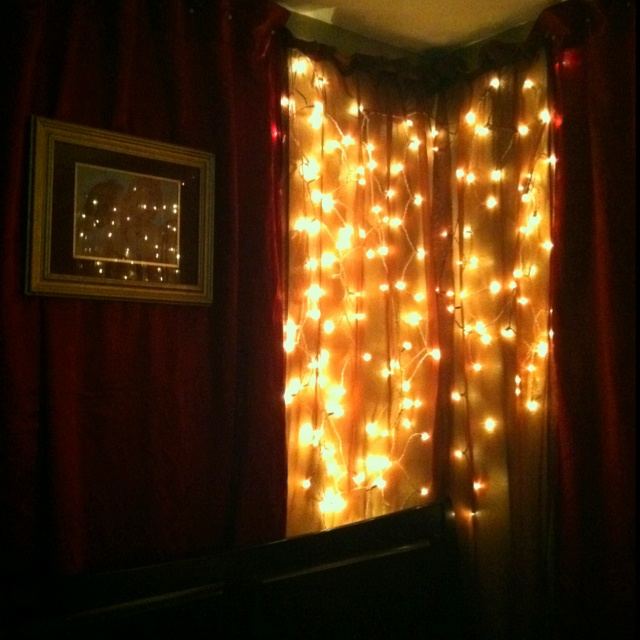 The Walls Of My Bedroom Decorated In Sheer And Silk Drapes
