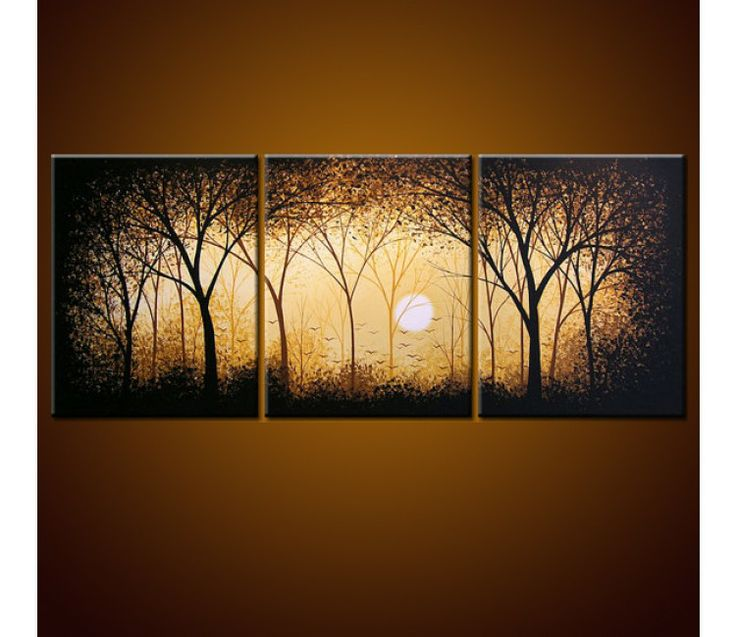 3 piece paintings - Google Search