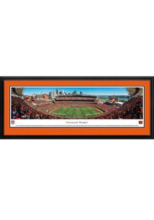 SAVE 50% TODAY ONLY | Cincinnati Bengals Paul Brown Stadium Deluxe Framed Posters