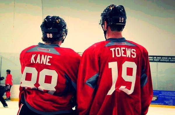 Reunited. #Blackhawks #OneGoal