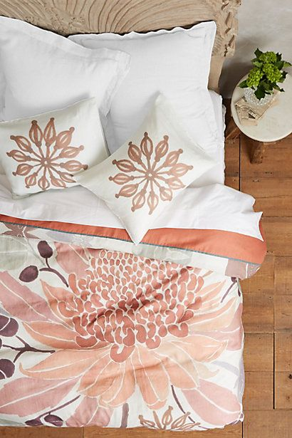 Waratah Duvet by Nancybird #anthroregistry