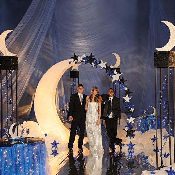 Moonlight Feels Right Prom Theme