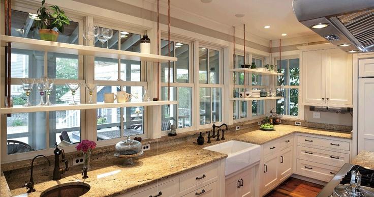 floating shelves over windows windows pinterest Kitchen Window Plant Shelves Wooden Valance