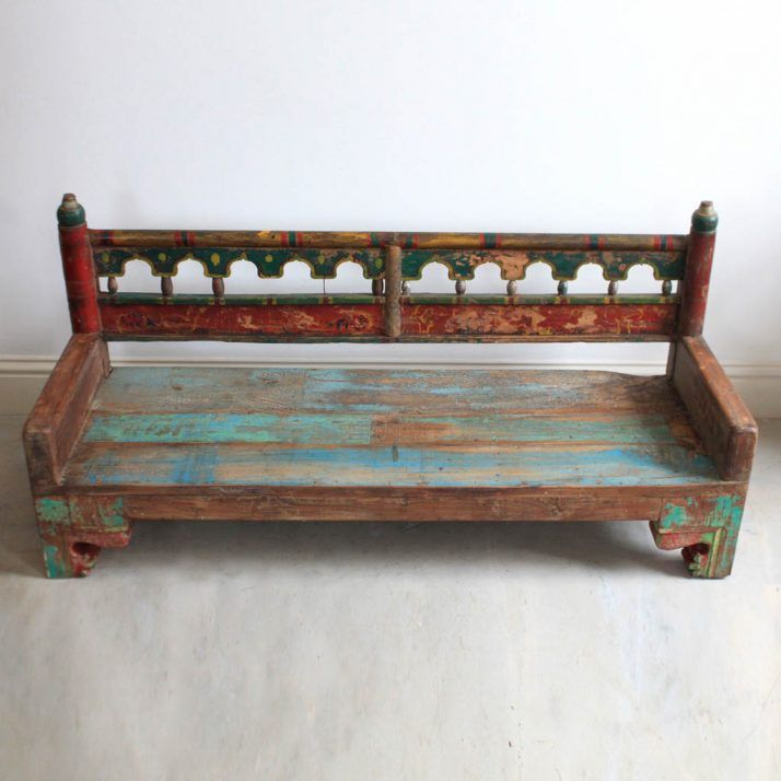 Painted Wooden Benches 145 Photos Designs On Painted Wooden Garden  Furniture Uk
