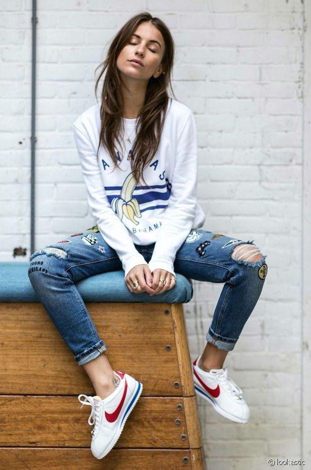 pretty nice 61649 d072c Nike Cortez Womens On Feet