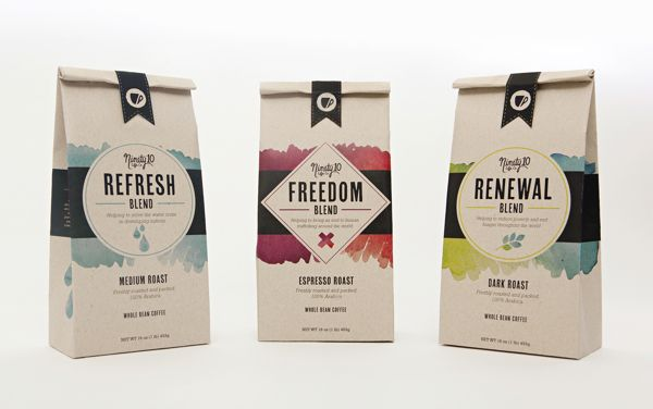 Design Inspiration: 15 Awesome Coffee Packaging Designs | DesignWoop