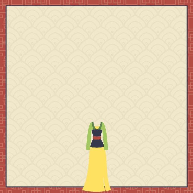 Mulan: Mulan 12 x 12 Paper