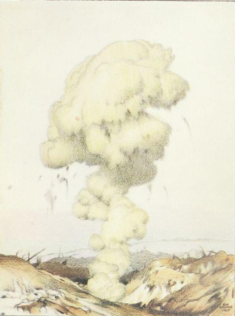 Explosion of an Ammunition Dump