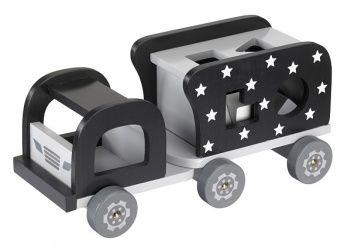 Sorter Drewniany Samochód Kids Concept - Czarny