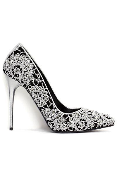 Alexander McQueen - Shoes - 2014 Pre-Spring << Stunning.