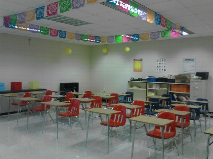 Spanish Classroom Decoration Ideas : Spanish classroom decorations and an overall view of